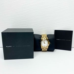 Marc by Marc Jacobs 'Amy' Gold Watch